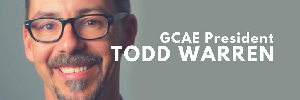 GCAE President Todd Warren